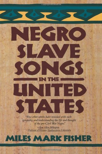 Negro Slave Songs in the United States N/A edition cover