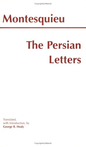 Persian Letters  Reprint  edition cover