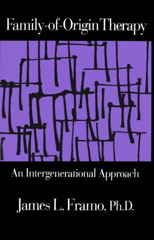 Family-of-Origin Therapy An Intergenerational Approach  1993 edition cover