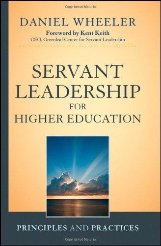 Servant Leadership for Higher Education Principles and Practices  2012 edition cover