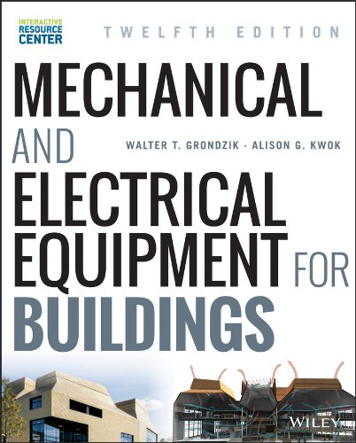 Mechanical and Electrical Equipment for Buildings  12th 2015 edition cover