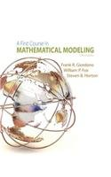 A First Course in Mathematical Modeling:   2013 edition cover