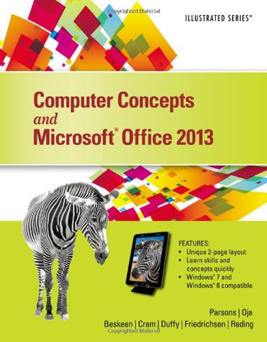 Computer Concepts and Microsoft Office 2013  2014 edition cover