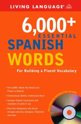 6,000+ Essential Spanish Words with CD-ROM N/A edition cover