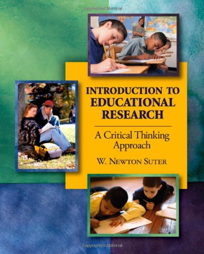 Introduction to Educational Research A Critical Thinking Approach  2006 edition cover