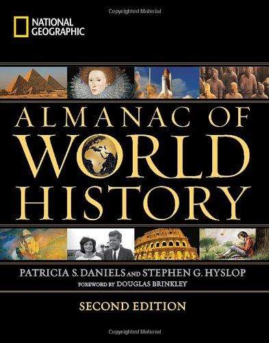 National Geographic Almanac of World History  2nd 2011 edition cover