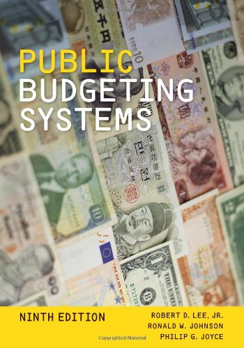 Public Budgeting Systems  9th 2013 edition cover