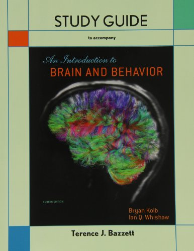 INTRO.TO BRAIN+BEHAVIOR-STUDY  N/A edition cover