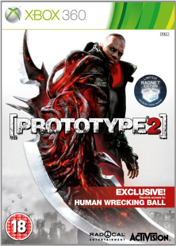 Prototype 2 Xbox 360 artwork
