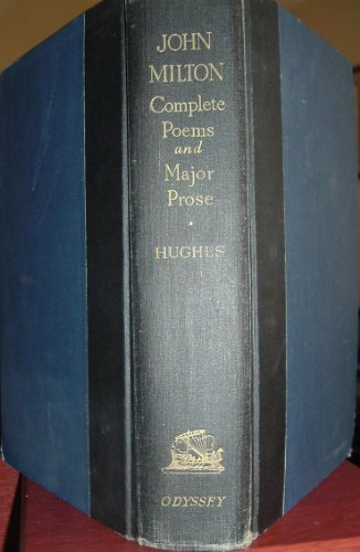 Complete Poems and Major Prose : Milton 1st 1957 edition cover