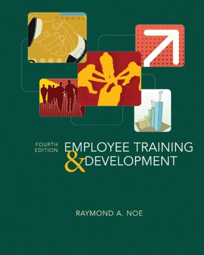 Employee Training and Development  4th 2008 (Revised) edition cover