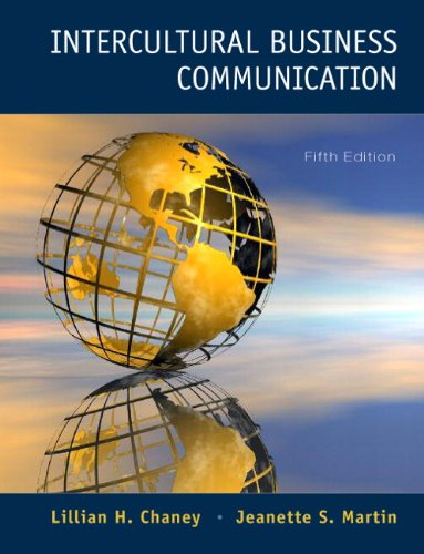 Intercultural Business Communication  5th 2011 9780132127905 Front Cover