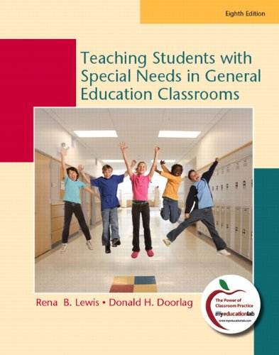 Teaching Students with Special Needs in General Education Classrooms  8th 2011 edition cover
