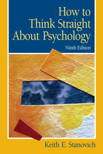 How to Think Straight about Psychology  9th 2010 edition cover