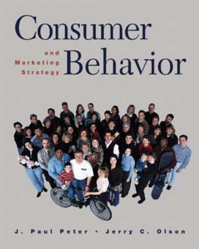 Consumer Behavior and Marketing Strategy 5th 1999 9780256261905 Front Cover