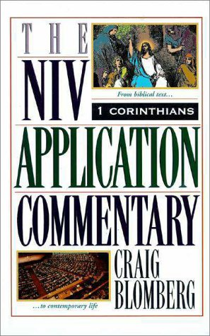 NIV Application Commentary   1995 edition cover