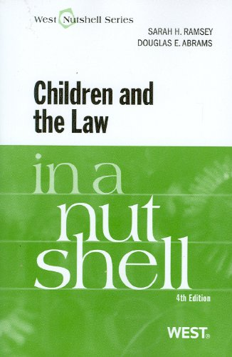 Children and the Law  4th 2011 (Revised) edition cover