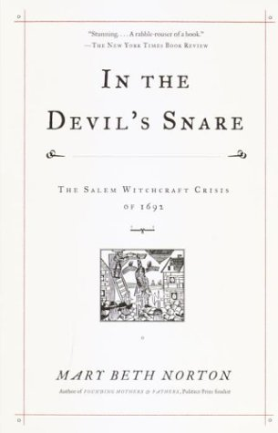 In the Devil's Snare The Salem Witchcraft Crisis of 1692  2002 edition cover