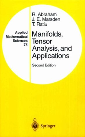 Manifolds, Tensor Analysis, and Applications  2nd 1988 (Revised) edition cover