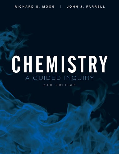 Chemistry A Guided Inquiry 5th 2012 edition cover