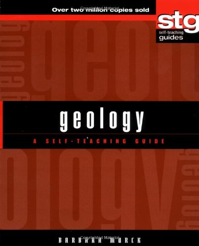 Geology A Self-Teaching Guide  2001 edition cover