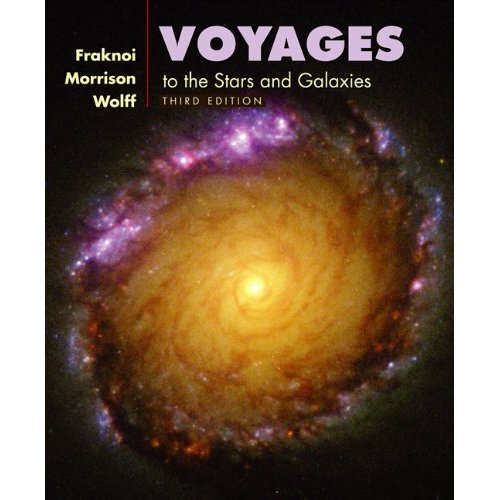 Voyages to the Stars and Galaxies  3rd 2006 edition cover