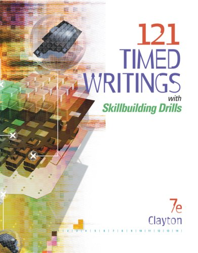 121 Timed Writings with Skillbuilding Drills  7th 2007 (Revised) 9780538974905 Front Cover