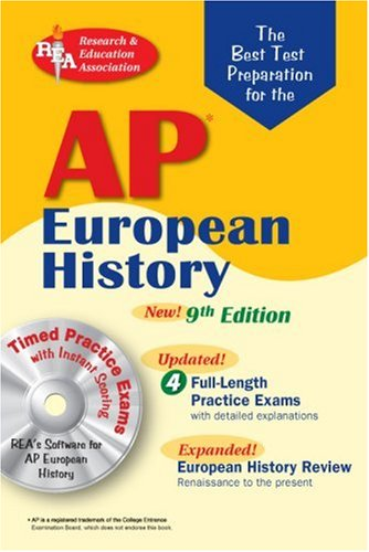 AP European History  9th 2007 9780738602905 Front Cover