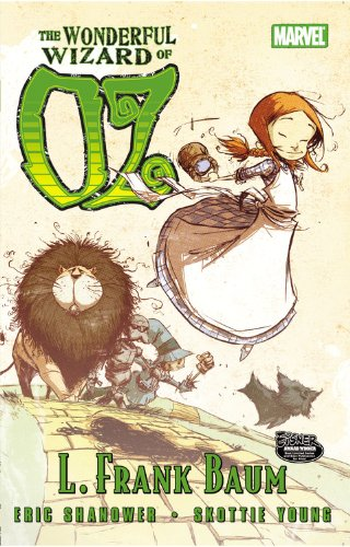 Wonderful Wizard of OZ   2010 edition cover