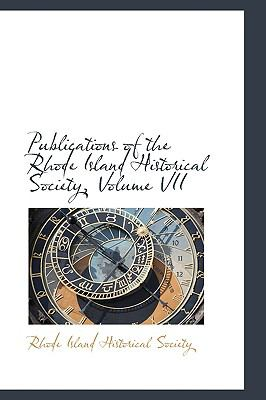 Publications of the Rhode Island Historical Society:   2009 edition cover