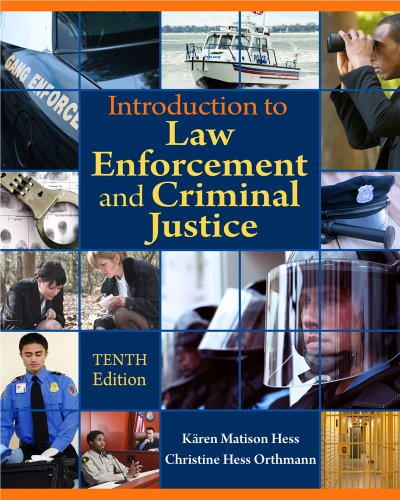 Introduction to Law Enforcement and Criminal Justice  10th 2012 edition cover