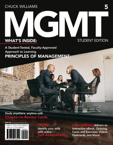 MGMT5  5th 2013 9781133190905 Front Cover