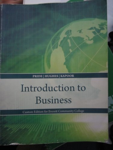 INTRO.TO BUSINESS >CUSTOM<              N/A 9781285123905 Front Cover