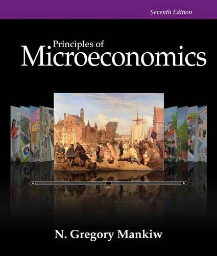 Principles of Microeconomics: 7th 2014 9781285165905 Front Cover