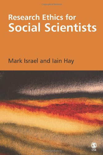Research Ethics for Social Scientists   2006 edition cover