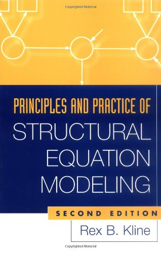 Principles and Practice of Structural Equation Modeling, Second Edition  2nd 2005 (Revised) edition cover