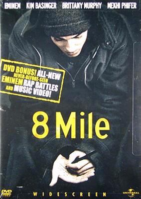 8 Mile (Widescreen Edition with Censored Bonus Features) System.Collections.Generic.List`1[System.String] artwork