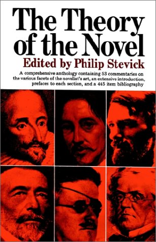 Theory of the Novel   1967 edition cover