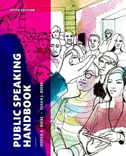 Public Speaking Handbook + New Mycommunicationlab Access Card:   2015 edition cover