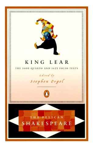 King Lear The 1608 Quarto and the 1623 Folio Texts  2000 (Revised) edition cover