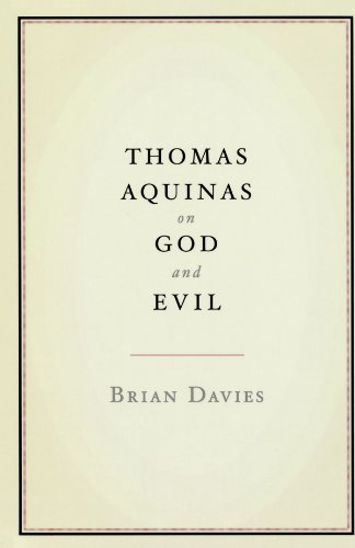 Thomas Aquinas on God and Evil   2011 edition cover