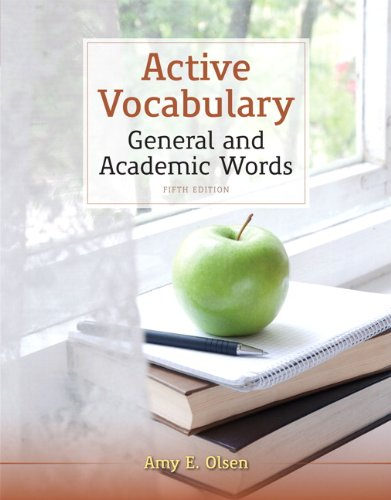 Active Vocabulary  5th 2013 edition cover