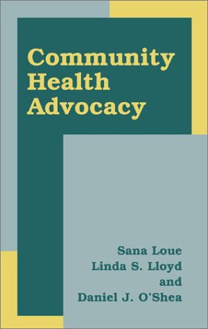 Community Health Advocacy   2002 edition cover