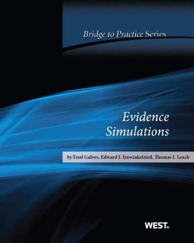 Evidence Simulations: Bridge to Practice  2013 edition cover