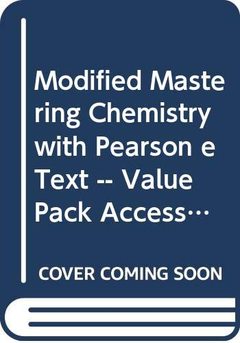 New MasteringChemistry with Pearson Etext -- Valuepack Access Card -- for General, Organic, and Biological Chemistry: Structures of Life  2013 edition cover