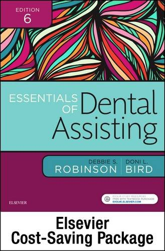 Essentials of Dental Assisting - Text and Workbook Package  6th 2017 9780323430906 Front Cover