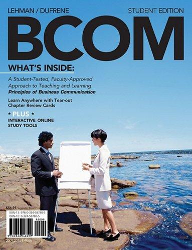 Bcom   2009 edition cover