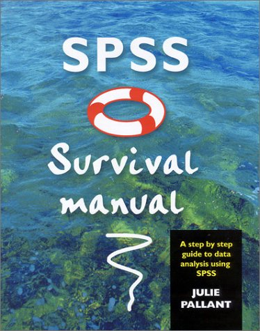 SPSS Survival Manual Step by Step Guide to Data Analysis Using SPSS for Windows  2001 edition cover