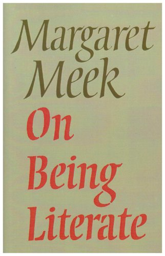 ON BEING LITERATE: LIVING WITH DIFFERENCE N/A edition cover