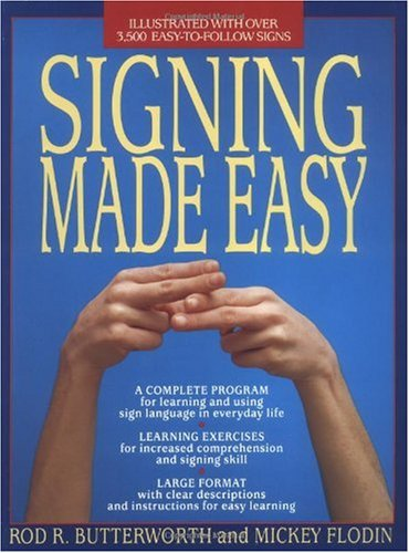 Signing Made Easy   1989 edition cover